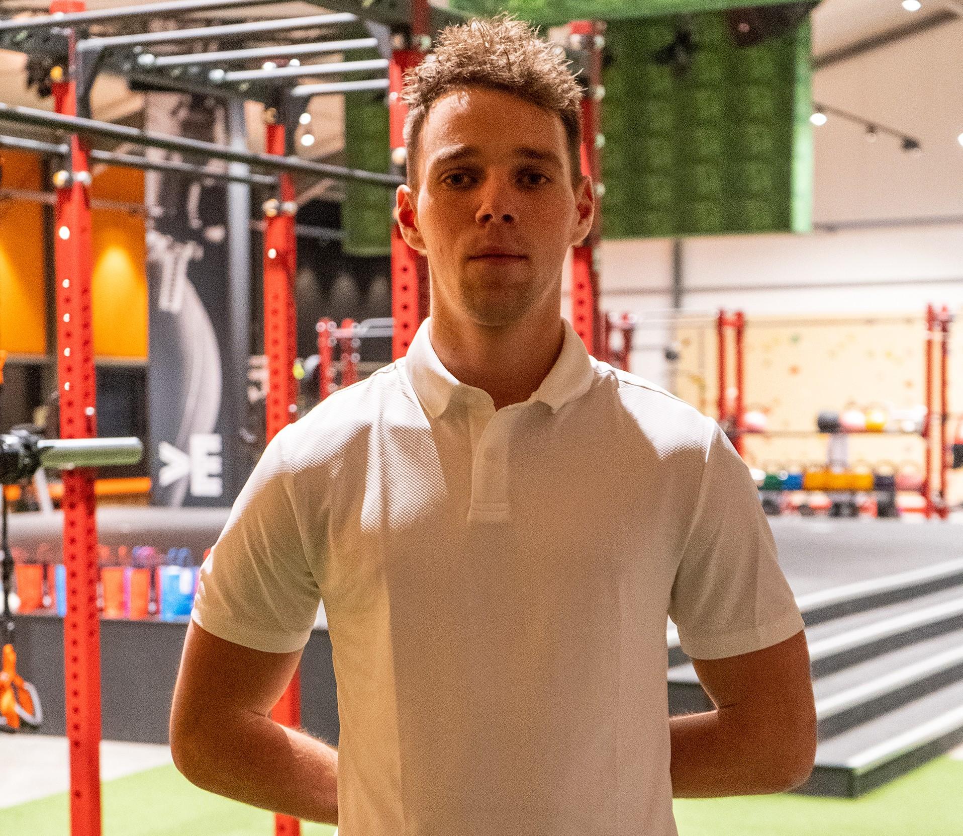 Ruben Eijzenga fitness trainer