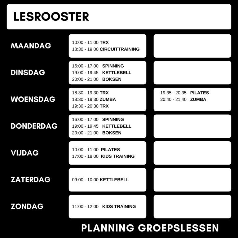 Lesrooster Fb 4